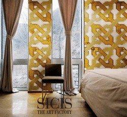 sárga pixeles mozaik