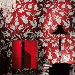 sicis vörös mozaik kép