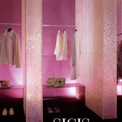 sicis waterglass rózsaszín mozaik