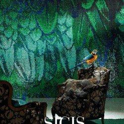 ipix zöld mozaik