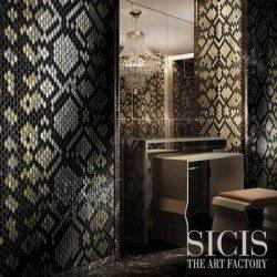 Neoglass fekete mozaik
