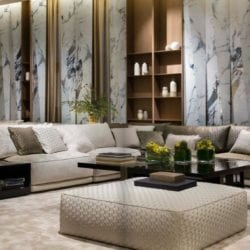 Electric Marble nappali a SICIS iSaloni 2018 standon