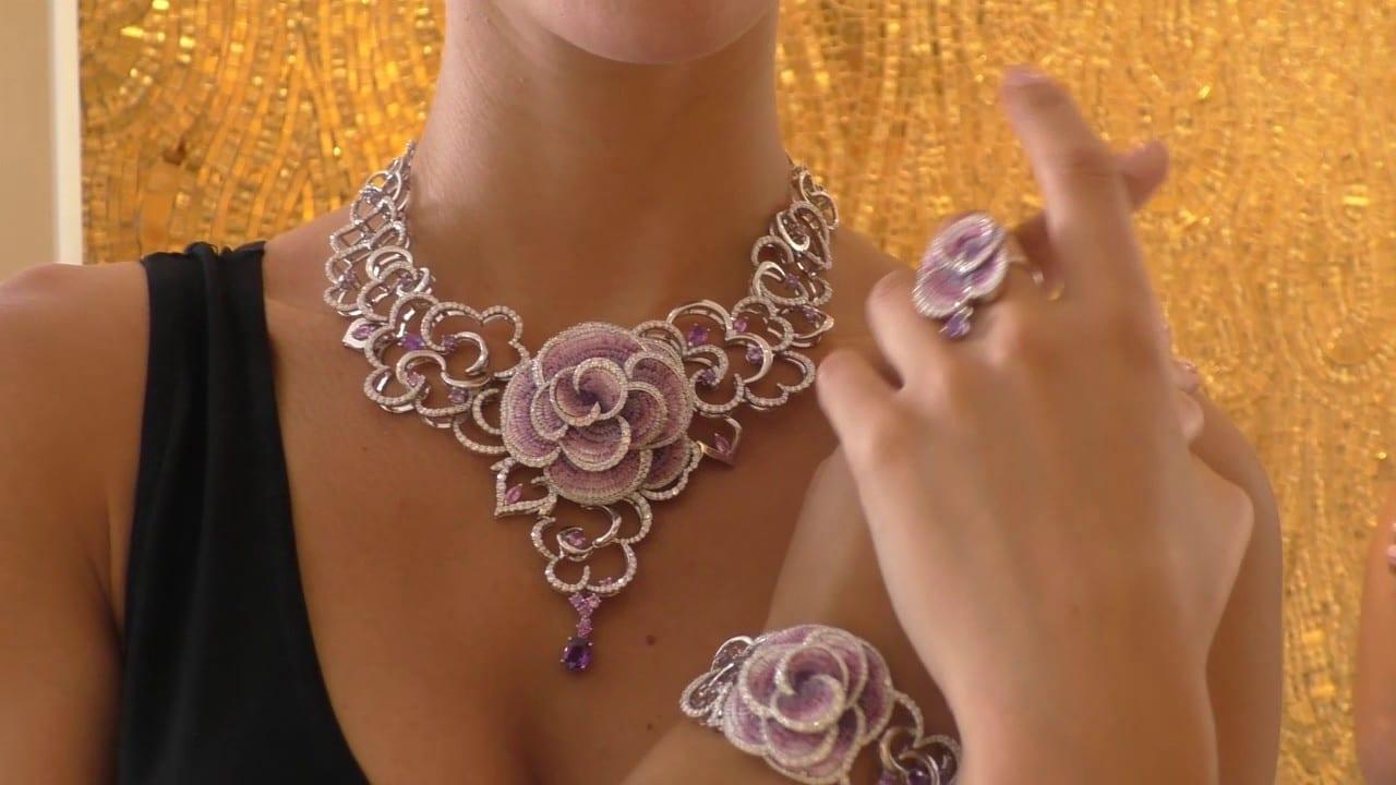SICIS mozaik ékszer Rose Carpet kollekció 1
