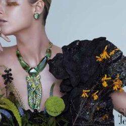 SICIS mozaik ékszer divatfotó