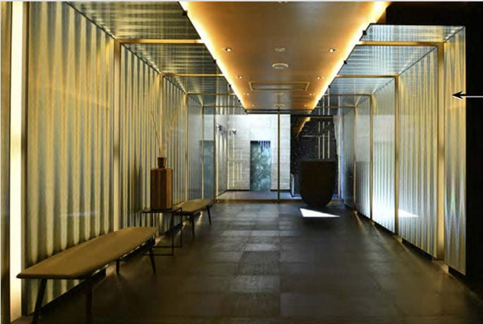 A Kimoto Hotel lobbija