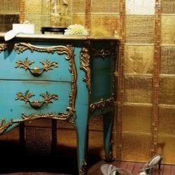 Arany colibrick arany mozaikkal