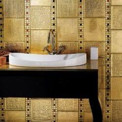 Arany ColiBrick színes mozaikszemekkel