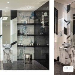 Electric Marble fürdőszoba a Cersaie 2019 SICIS standon
