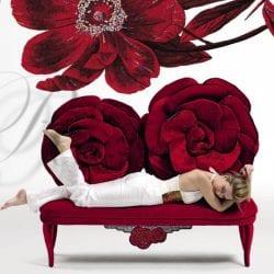 Tolomeo rózsabútor