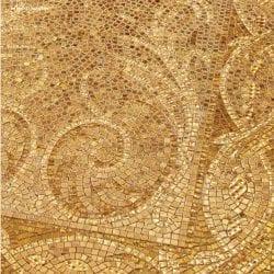 Hullámzó arany mozaik