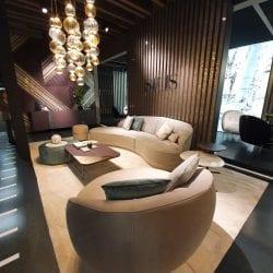 SICIS szőnyeg és Dorian sofa
