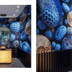 Deep Sea mozaik a Cersaie 2019-en