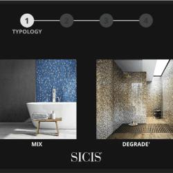 2. lépés: a SICIS mozaik mix kiválasztása