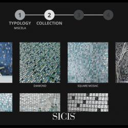 3. lépés: Mozaiktípusok