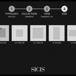 5. lépés: Minta felület méret kiválasztása