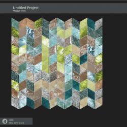 14. lépés: A SICIS mozaik mix a kiválasztott fúgával