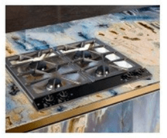 Boroszilikát üveg konyhapult
